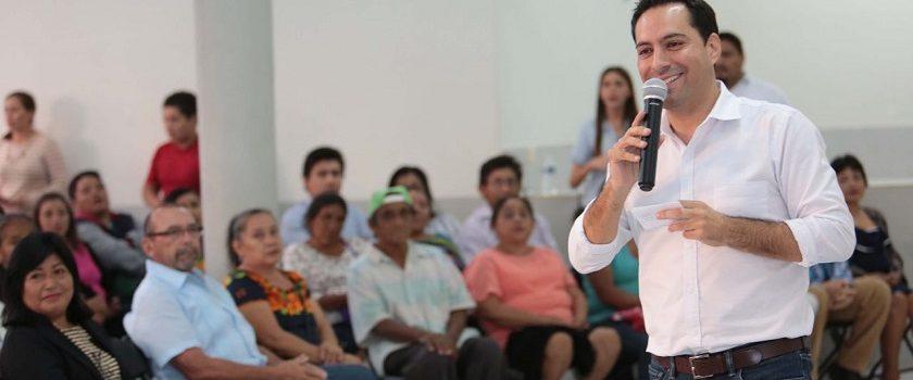 Merecen mucho más las familias de Yucatán: Mauricio Vila
