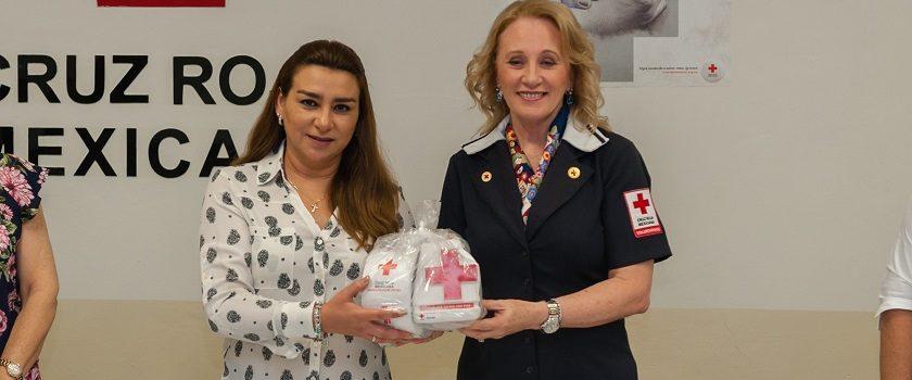 Se suma DIF Yucatána la colecta anual de la Cruz Roja Mexicana