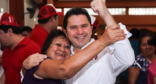 Vamos a construir juntos más oportunidades para Yucatán: Sahuí