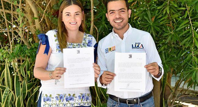 Cecilia Patrón y Elías Lixa declaran su 3 de 3