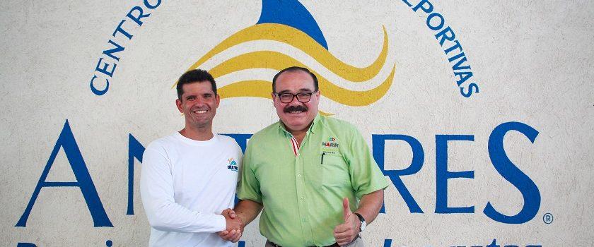 Apoyará Ramírez Marín la hazaña de un nadador yucateco