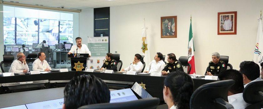 Realizan en Yucatán la Reunión Regional Sureste de Reguladores de Seguridad Privada