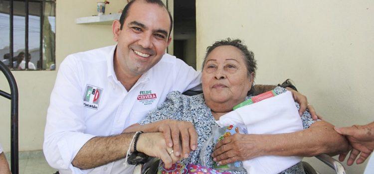 Garantizar la seguridad de las personas con discapacidad, tarea de Felipe Cervera