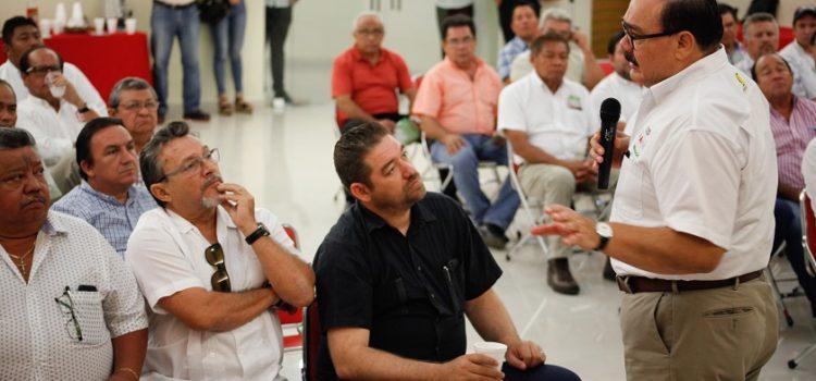 Ramírez Marín gestionará fondos internacionales para el desarrollo de Yucatán