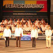 Con éxito se realizó debate del CCE Yucatán