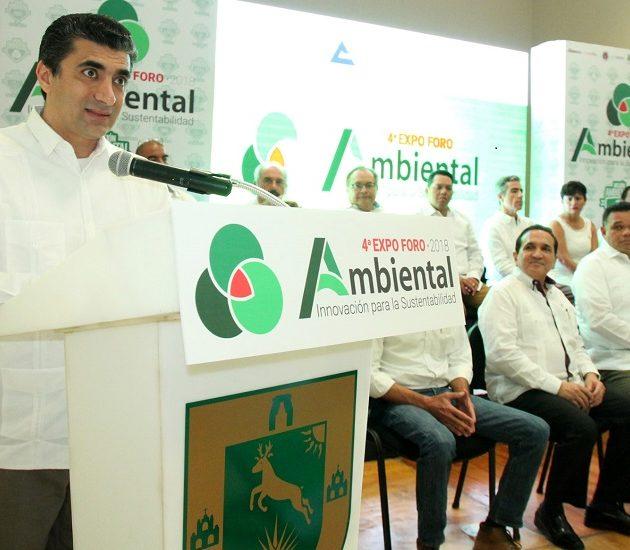 Inauguran la cuarta edición de la Expo Foro Ambiental 2018