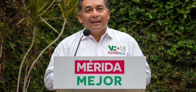Ofrece Víctor Caballero fin a la inseguridad y deterioro social del Centro Histórico