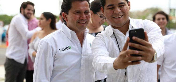 Jóvenes, pilar del desarrollo de Yucatán: Mauricio Sahuí