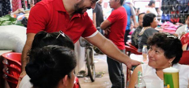 Luis Borjas Promoverá leyes que mejoren la vida de los ticuleños
