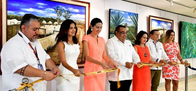 Inician los festejos de 500 exposiciones en la Galería del Aeropuerto de Mérida