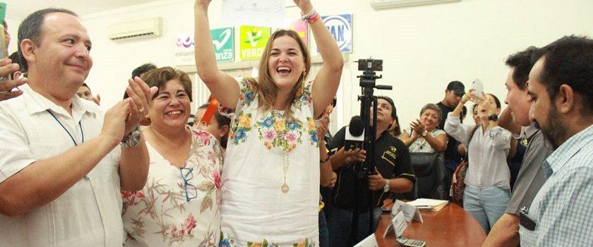 Cecilia Patrón, ganadora oficial del Distrito 3