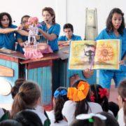 Inicia en Yucatán el Programa Nacional de Teatro Escolar