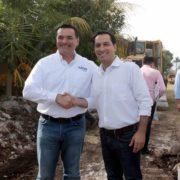 Ponen en marcha la construcción de 120 kilómetros de calles en Mérida
