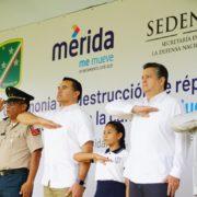 """Renán Barrera participa en la campaña """"Juguemos sin Violencia"""""""