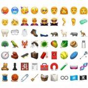 Llegarán 70 emojis nuevos a dispositivos Apple