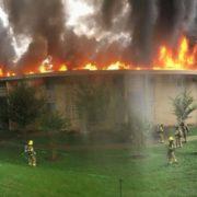 Mujer causa incendio tras discusión con su expareja