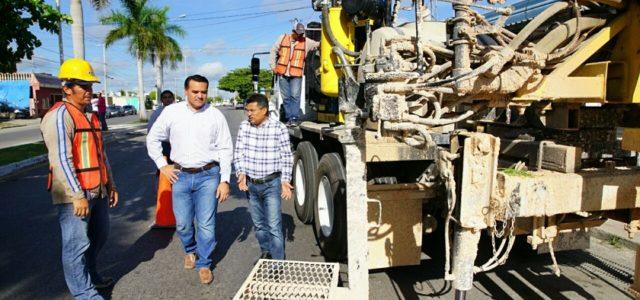 Construcción de pozos y aljibes en Mérida, con 80% de avance