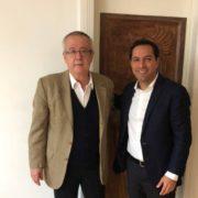 Vila se reúne con el próximo secretario de Hacienda Federal