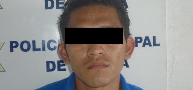 Detenido tras robar teléfono celular en unas oficinas