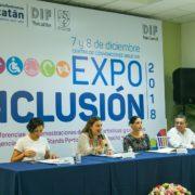 """Presentan sexta edición de la """"Expo Inclusión 2018"""""""