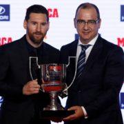 """Messi """"empareja"""" a Hugo Sánchez"""