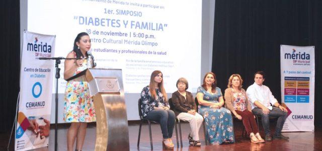 """DIF Mérida realiza el Primer Simposio """"Diabetes y Familia"""""""
