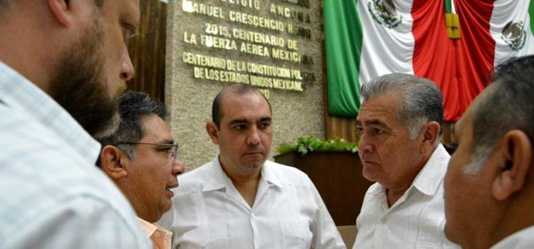 Diputados presentan diversos acuerdos e iniciativas