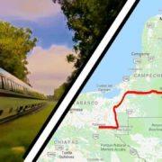 Tren maya recibe respaldo de 35 mil yucatecos