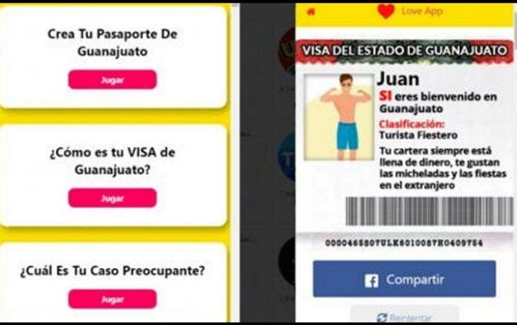 Alertan uso de datos al crear 'Visa de Guanajuato' en Facebook
