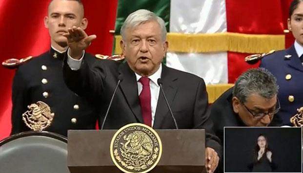 Más promesas de AMLO en su toma presidencial
