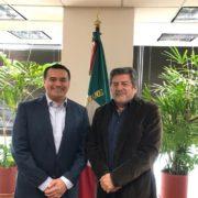 Se reúne Renán Barrera con director de Fonatur en la Ciudad de México