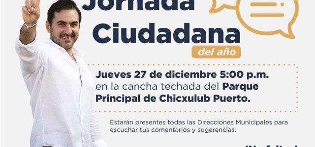 Zacarías Curi terminará el año con Jornada Ciudadana