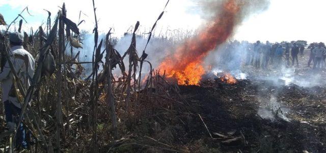 Muere gobernadora de Puebla y Moreno Valle en accidente aéreo