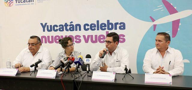 Chihuahua, Hermosillo, Tijuana y Oaxaca conectarán vía aérea con Mérida