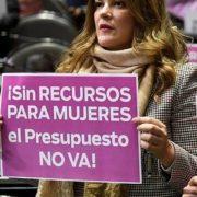 Cecilia Patrón lamenta bajo presupuesto federal
