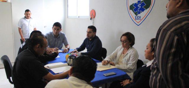 Diego Ávila, refuerza salud y seguridad en Tekax