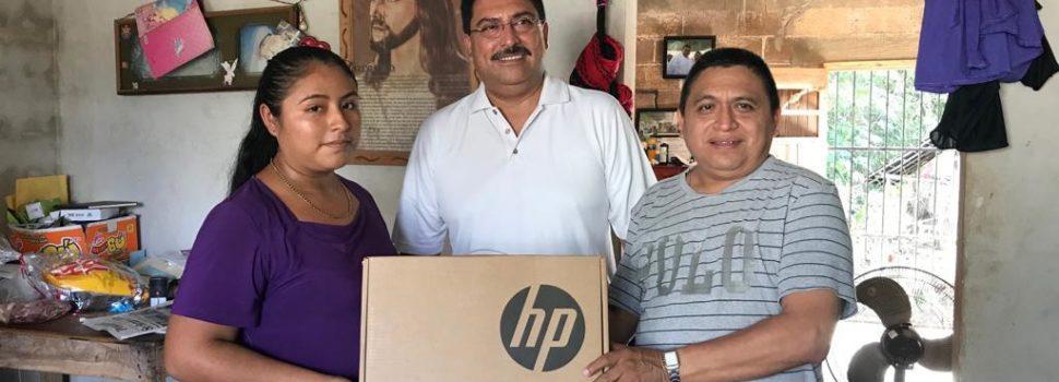 Gente buena y trabajadora, genera cambios en los municipios: Canul Pérez