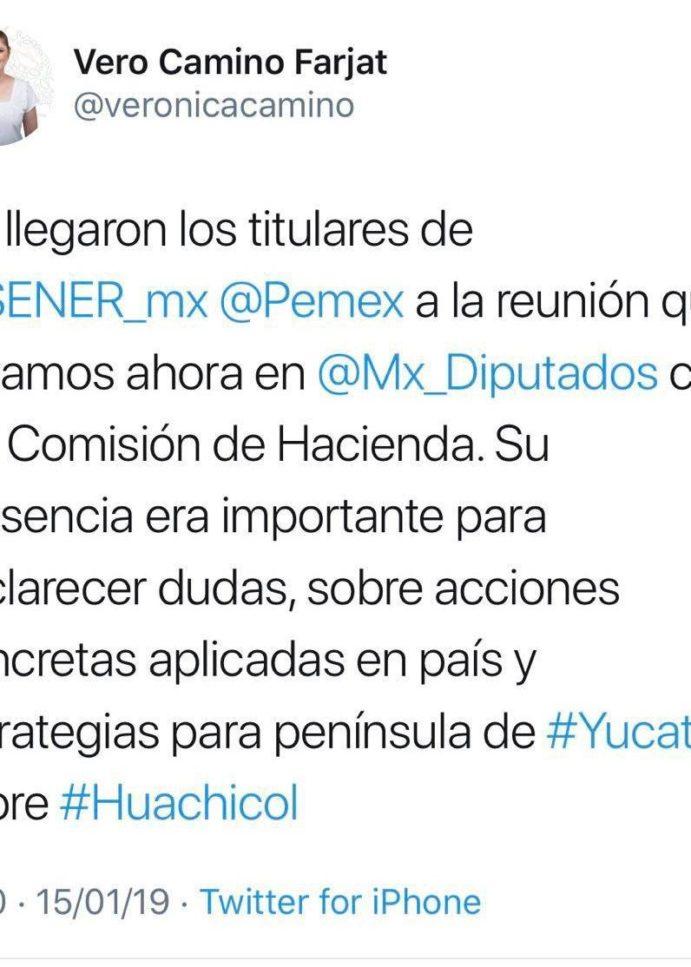 Sener y Pemex dejan plantados a legisladores federales