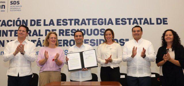 El Gobernador Mauricio Vila Dosal presenta estrategia para contrarrestar la mala disposición de desechos