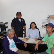 Agentes de la Policía de Mérida localizan a persona extraviada
