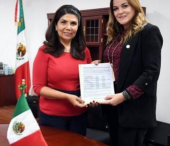 Promueve Cecilia Patrón iniciativa para contrarrestar el robo a casa-habitación.