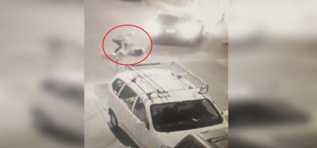 Mujer escapa de secuestro