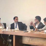 Se reúne el gobernador Mauricio Vila con funcionarios federales