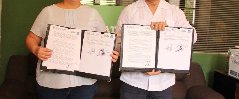 Firma Indemaya convenio de colaboración con Yucatán FM