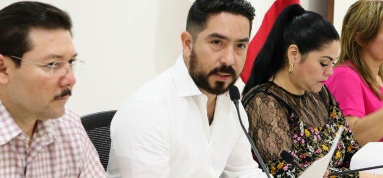 Luis Borjas presenta plan de trabajo