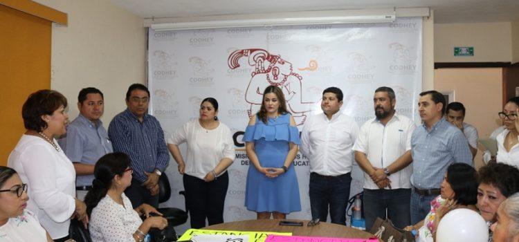 Panistas y legisladores llevan caso de estancias infantiles a la CODHEY