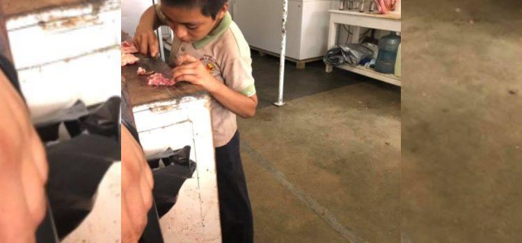 Historia de niño tabasqueño que solicita empleo conmueve las redes
