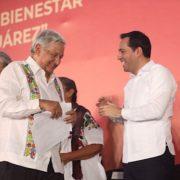 Vila y AMLO suman esfuerzos en favor de los yucatecos