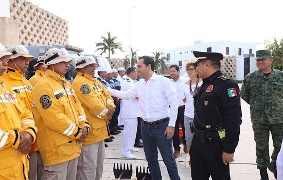 Llama Vila a unir esfuerzos, para prevenir y combatir incendios