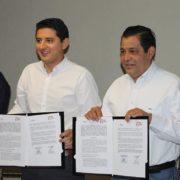 Tekax y Nezahualcóyotl, firman convenio e intercambian programas de seguridad